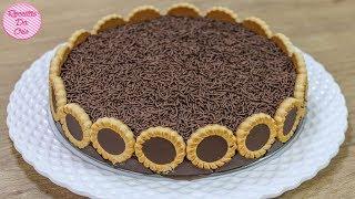 TORTA DE CHOCOLATE NESCAU COM TORTINHAS