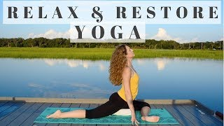 Restorative Yoga | Gentle Relaxation