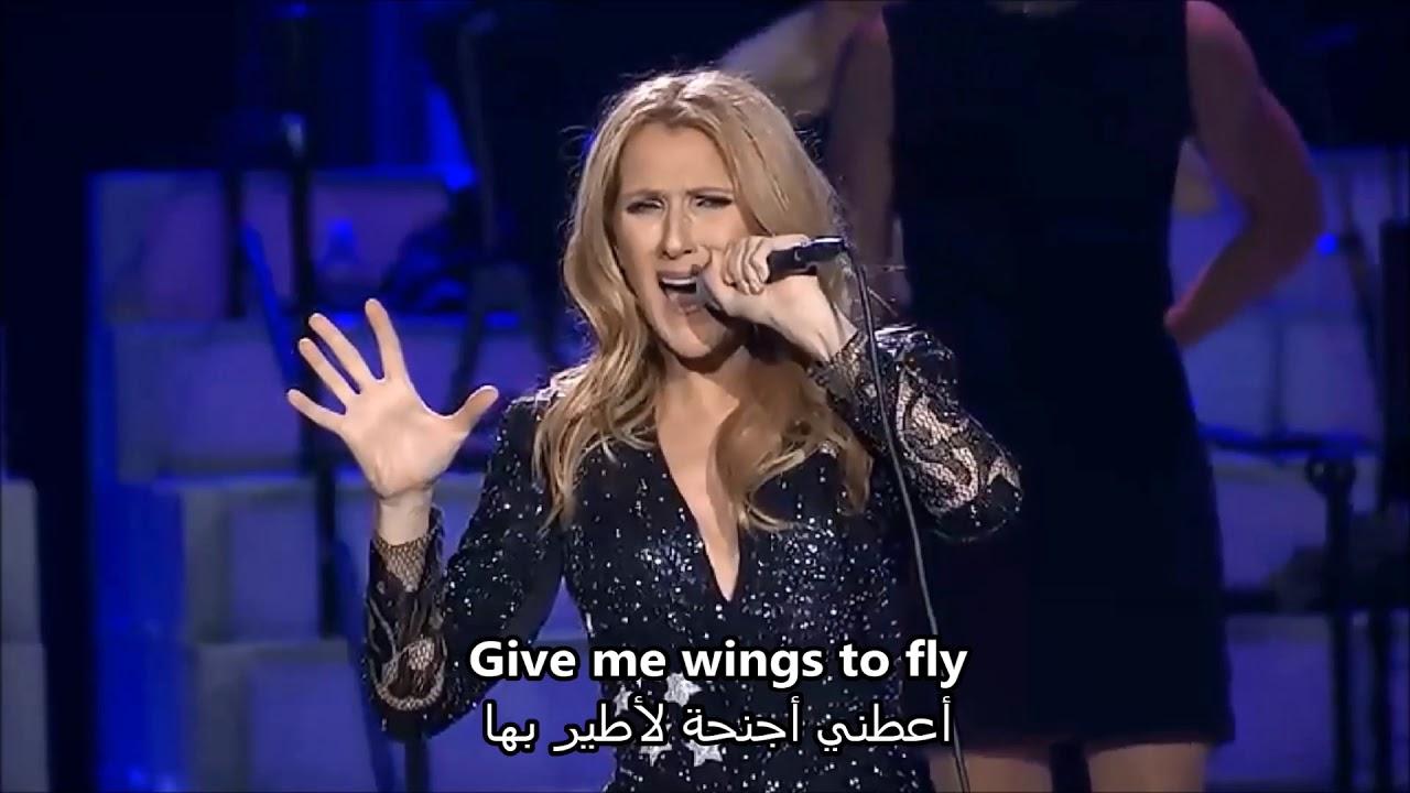 Enlightone: Celine Dion Where Does My Heart Beat Now مترجمة سيلين ديون