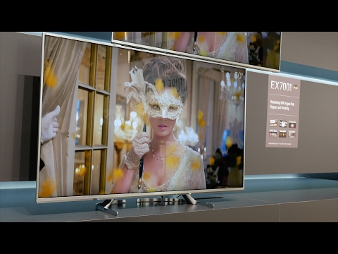 Panasonic EX780, EX750, EX700, EX600 4K UHD HDR LED TVs launched