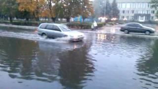 Погода в Литине(Дороги не видно. Все едут как хотят., 2016-10-13T05:46:22.000Z)
