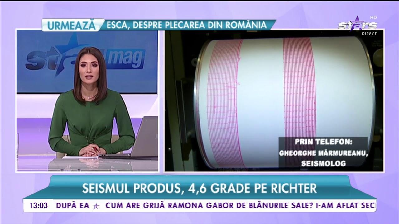 Cutremur de 4,6 pe scara Richter în România. Seismul s-a simțit și la București #1