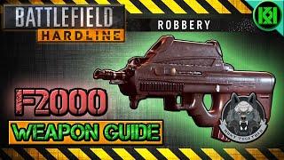 Battlefield Hardline F2000 Review (Gameplay) Best Gun Setup   Weapon Guide (BFH)
