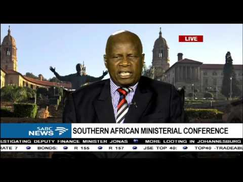 Zimbabwe Finance Minister Chinamasa talks about jobs crisis in Africa