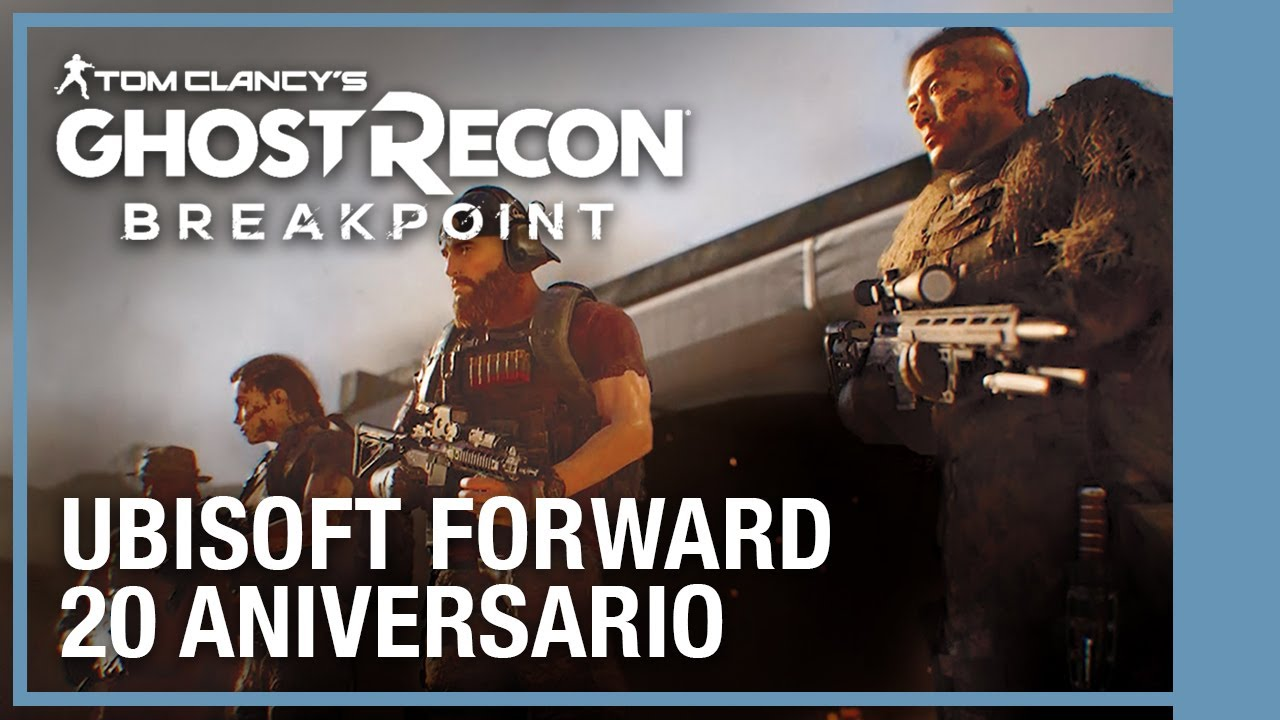 Tom Clancy's Ghost Recon Breakpoint: Tráiler del 20 Aniversario | #UbiForward | Ubisoft LATAM