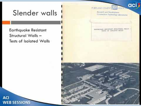 Behavior and Design of Earthquake-Resistant Structural Walls