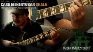 Dasar-dasar Improvisasi (Cara Menentukan SKALA dalam chord progresi) - Gitar Jazz Tutorial)