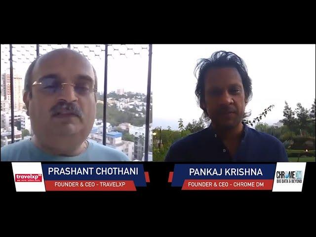 Chrome Talkies Season 2: Episode 8 - Prashant Chothani | Founder and CEO - Travelxp