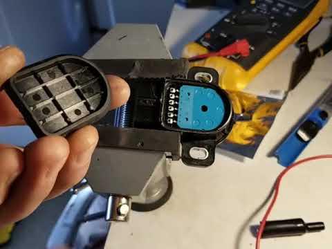 Honda Acura repair /fix APP sensor without buying a new parts. Error code  P2138