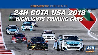 Highlights Hankook 24H COTA USA 2018 Touring Cars