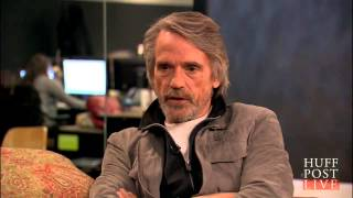 Jeremy Irons: All Actors Get Pigeonholed | HPL