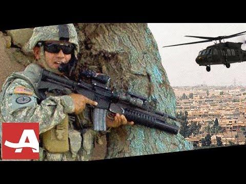 Soldier Braves Gunfire