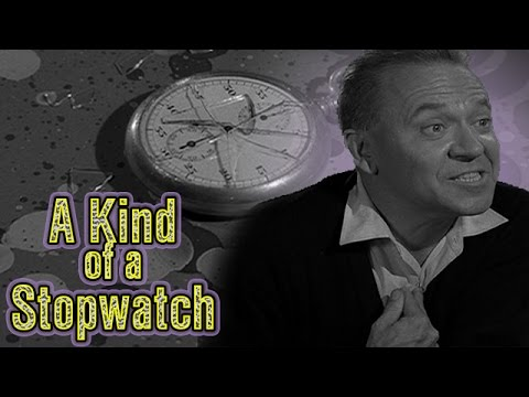 When Time Stands Still  -- 2 Minute Twilight Zone -- A Kind of  Stopwatch