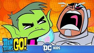 Teen Titans Go! en Francais | Manger ! C'est bon de manger !