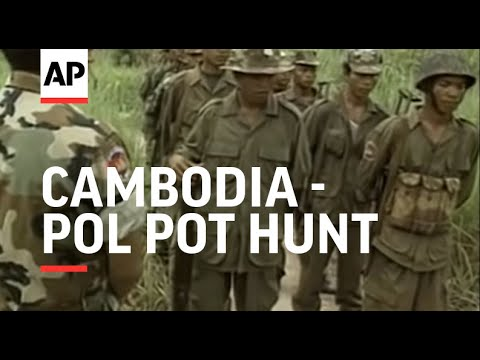 Cambodia - Pol Pot hunt