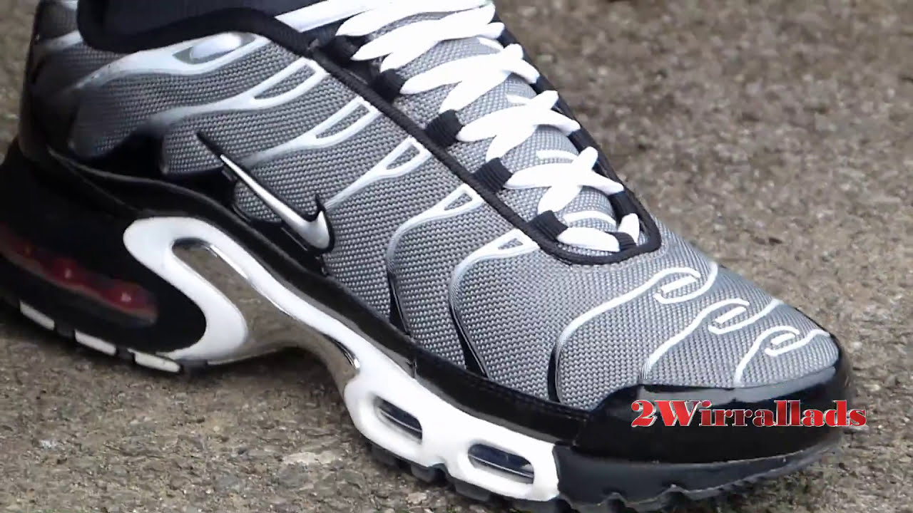 Grey And White Nike TNs and Ninety Five Trackies - YouTube dfc0f855e