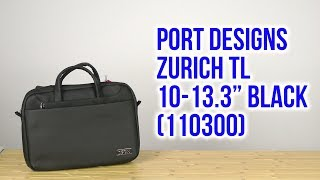 Розпакування PORT Designs Zurich TL 10-13.3 Black 110300