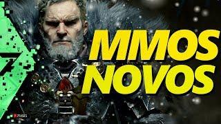 NOVOS GAMES: 6 MMOS / MMORPG 2018 - 2019 - A massante espera . | 7 Fases