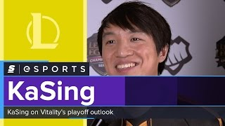 kasing on playoffs personally i would rather play the best of five first against the best team