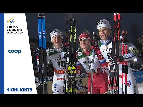 Highlights | Yulia Belorukova stuns the field in Ruka | Ruka | Ladies' Sprint | FIS Cross Country