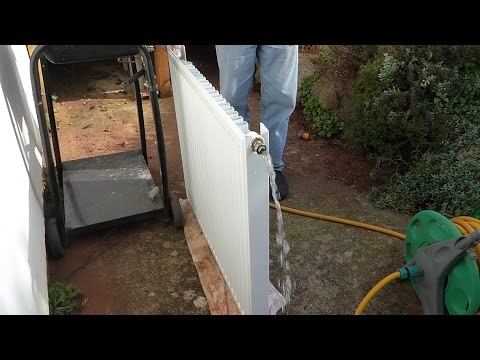 How to flush out a radiator. Improve heat and performance from your radiators