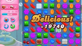 Candy Crush Saga   level 523 no boosters
