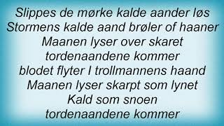 Kampfar - I Ondskapens Kunst Lyrics