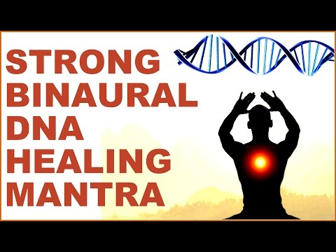 WARNING : DNA RECOVERY / BINAURAL ACTIVATION / BRAIN /BODY HEALING MANTRA : VERY POWERFUL