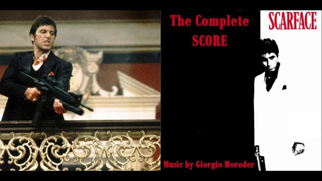 Scarface. Soundtrack- Complete Score