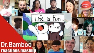 SUPER VERSION | Life is Fun Ft Boyinaband Official Music Video REACTIONS MASHUP