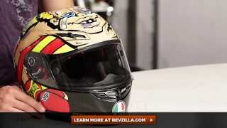Agv Gp-tech Rossi Misano 2012 Boxer Le Helmet Review At Revzilla.com