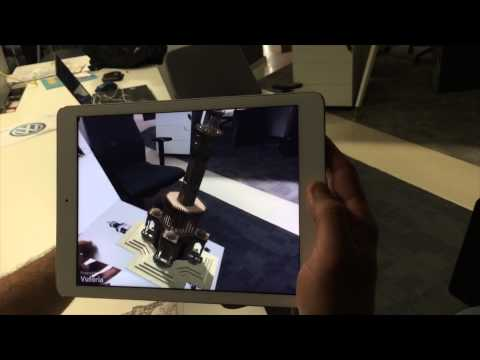 AR Pandora Augmented Reality Architectural Viewer Application - Artırılmış Gerçeklik Uygulaması