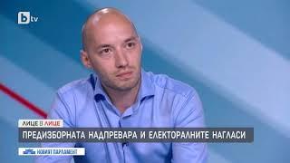 """Лице в лице: Димитър Ганев,""""Тренд"""": Разликата между ГЕРБ и ИТН е в рамките на статистическата грешка"""