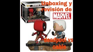 Unboxing de funko pop movie moment de deadpool vs cable