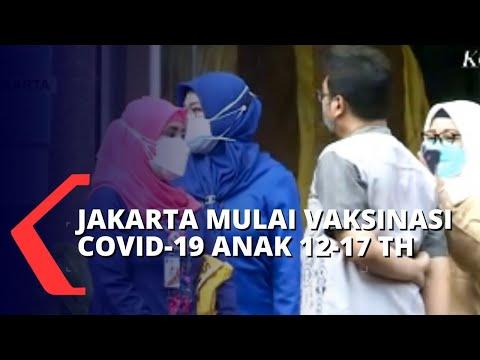 Jakarta Mulai Vaksinasi Covid-19 Ke Anak Usia 12-17 Tahun