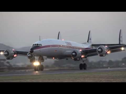 HARS Lockheed Super Constellation Display Avalon Airshow 2017