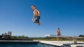 Diving Board Fails Compilation!