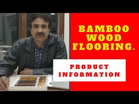 Bamboo Wood Flooring, Panelling and Deck Hindi.