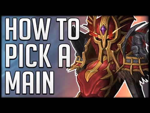 HOW TO PICK A MAIN FOR SHADOWLANDS