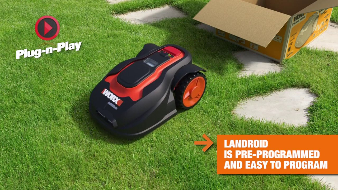 Robot-lawn mower - the easiest care of the lawn