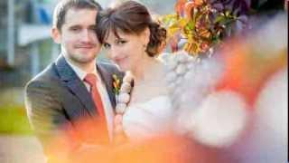 Свадьба осенью.Осенняя выездная регистрация в Пушкине.