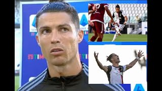 Cristiano Ronaldo Interview after Torino First Goal On Free Kick!