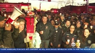 Family, Friends Gather To Honor Slain FDNY EMT At Sunday Vigil