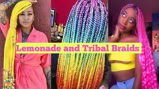 ❤🧡💛💚💙💜🍋Lemonade and Tribal Braids!