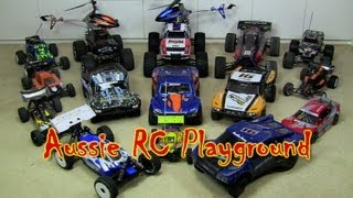 Aussie RC Playground's RC Collection & Behind the Scenes Video - 1 Year On