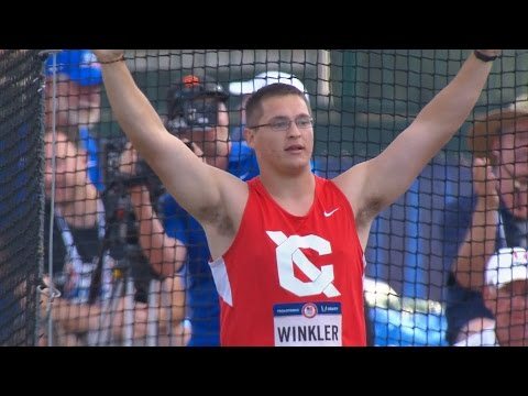 Olympic Track And Field Trials | Rudy Winkler Wins Men