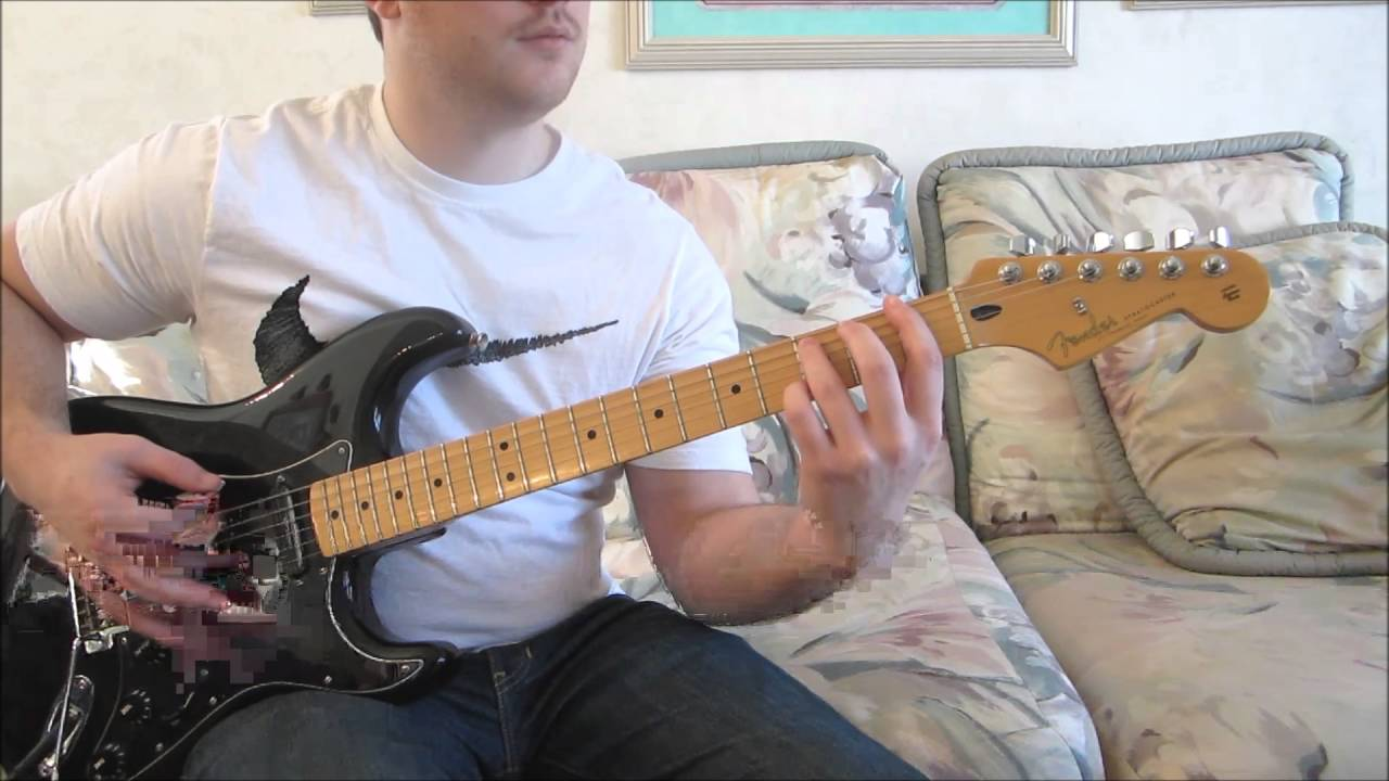 How To Play Glycerine By Bush Beginner Electric Guitar Lesson Youtube