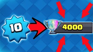 THE PUSH BEGINS! - Clash Royale - Starting Our Push to 4,000 Trophies!