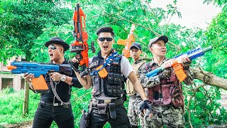 LTT Game Nerf War : Squad Warriors SEAL X Nerf Guns Fight Inhuman Group Special Forces Rescue Boss