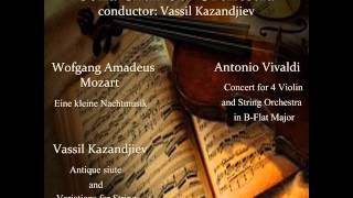 Play Concerto For 4 Violins, Strings & Continuo In B Flat Major, RV 553